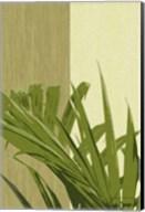 Painted Contrast Leaves IV Fine-Art Print
