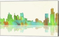Detroit Michigan Skyline 1 Fine-Art Print