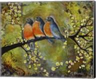 Robin Family Fine-Art Print