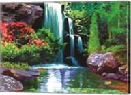 Waterfall D Fine-Art Print