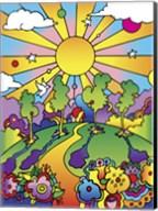 Cosmic Trees Fine-Art Print