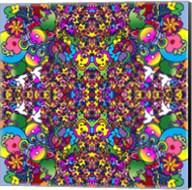 Flowers Kalidescope Fine-Art Print