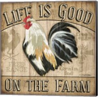 Country Rooster II Fine-Art Print