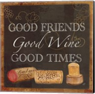Wine Cork Sentiment III Fine-Art Print