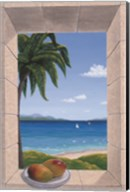 Hawaiian Fantasy with Mangoes Fine-Art Print