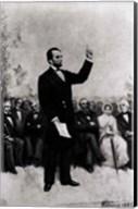 Lincoln's Address at Gettysburg, 1895 Fine-Art Print