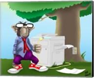 IT Monkey Fine-Art Print