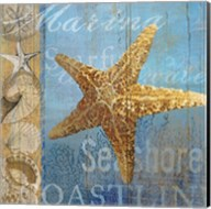 Starfish and sea Fine-Art Print