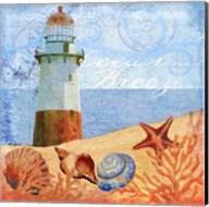 Ocean Breeze Lighthouse Fine-Art Print