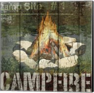 Open Season Campfire Fine-Art Print