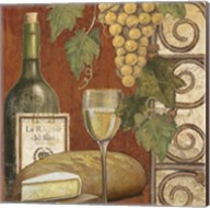 Wine and Cheese Tasting 1 Fine-Art Print