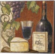 Wine and Cheese Tasting 3 Fine-Art Print