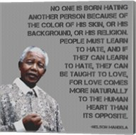 No One - Nelson Mandela Quote Fine-Art Print
