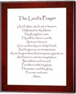 The Lord's Prayer - Red Fine-Art Print