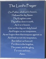 The Lord's Prayer - Blue Sky Fine-Art Print