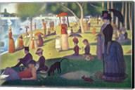 Sunday Afternoon on the Island of La Grande Jatte Fine-Art Print
