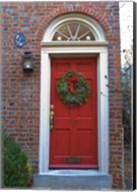 Red Door 117 Fine-Art Print