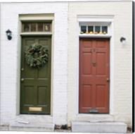 Dual Doors (Color) Fine-Art Print