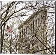 Veiled Flatiron Building (detail) Fine-Art Print