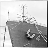 Ship Bow (b/w) Fine-Art Print