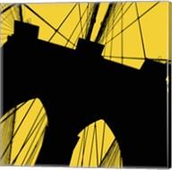 Brooklyn Bridge (Yellow) Fine-Art Print