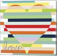 Heart Rainbow Fine-Art Print