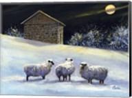 January Fleece Fine-Art Print