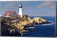 Coastal Lighthouse Fine-Art Print