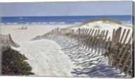 Walk To The Beach Fine-Art Print