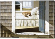 Beach House Dog Fine-Art Print