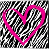 Zebra Love Fine-Art Print