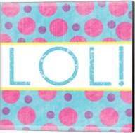LOL Dots Fine-Art Print