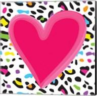 Leopard Heart 1 Fine-Art Print