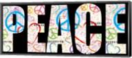 Peace Graffiti - Color Fine-Art Print