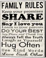 Family Rules 1 Fine-Art Print