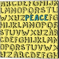 Peace Alphabet Fine-Art Print