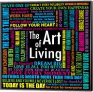The Art of Living Fine-Art Print