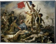 Liberty Leading the People, 1830 Fine-Art Print