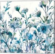 Transparent Garden  Apple Green Fine-Art Print