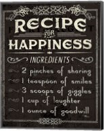 Life Recipes IV Fine-Art Print