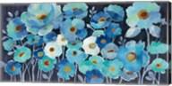 Indigo Flowers Fine-Art Print