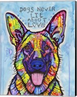 Dogs Never Lie Fine-Art Print