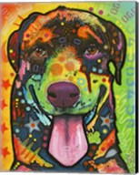 Rottie Pup Fine-Art Print
