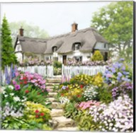 English Cottage Fine-Art Print