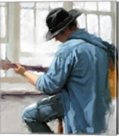 Guitar Player Fine-Art Print