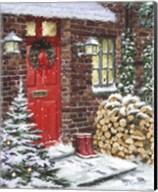 Winter Logs Fine-Art Print