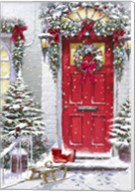 Garland Door Fine-Art Print