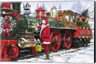Santa's Train 1 Fine-Art Print