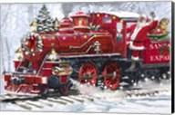 Santa's Train 2 Fine-Art Print