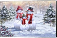 Snow Family 2 Fine-Art Print